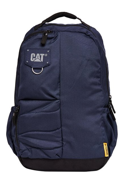 CAT Bruce Navy Polyester Backpack