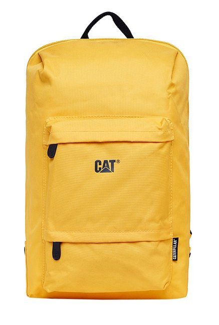 CAT Concept X Yellow Polyester Laptop Backpack