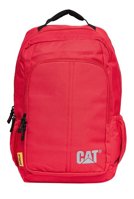 CAT Innovado Red Polyester Laptop Backpack
