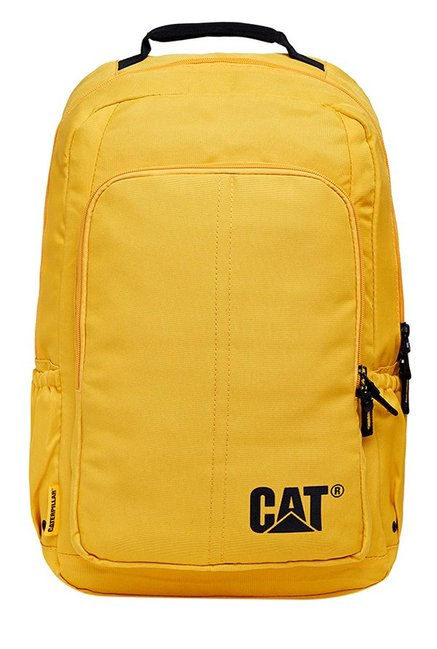 CAT Innovado Yellow Polyester Laptop Backpack