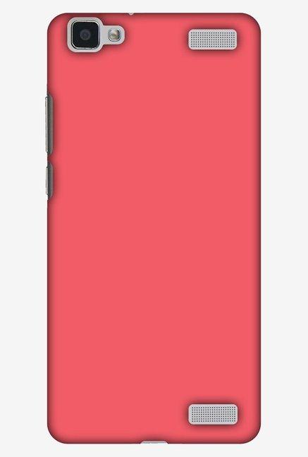 newest collection 2ab9c bd4db Buy Amzer Amaranth Red Designer Case for Vivo V1 Max Online At Best ...