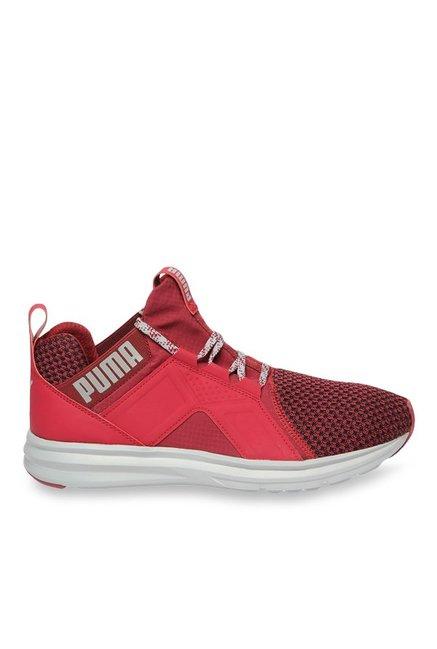 539b0c1e178 Buy Puma Enzo Terrain Tibetan Red   Quarry Running Shoes for Men at Best  Price   Tata CLiQ
