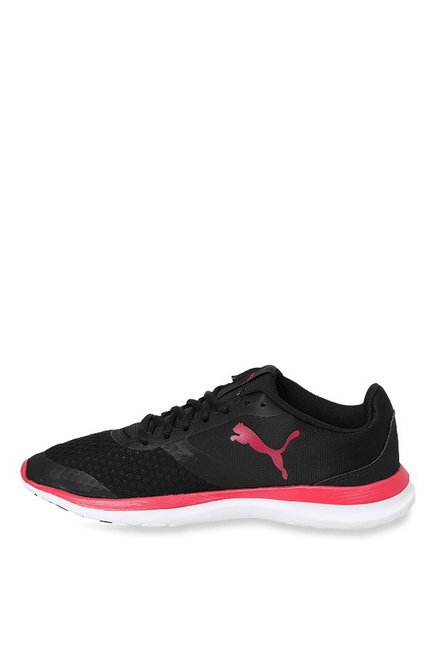 Buy Puma Flex T1 Black   Love Potion Running Shoes for Women at Best ... 1dbf82b65ec5