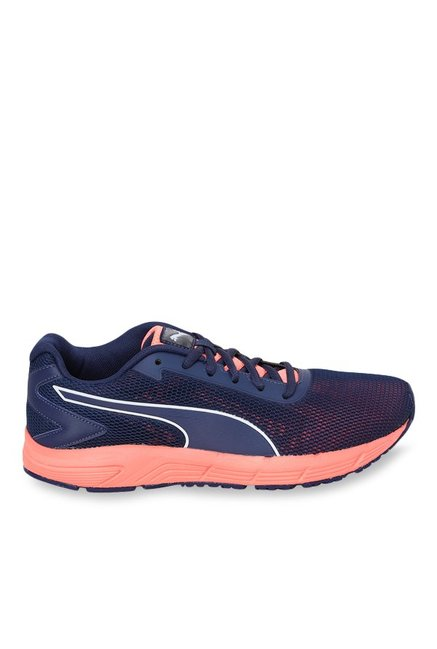 461299699c Buy Puma Engine Blue Depths & Peach Running Shoes for Women at Best ...
