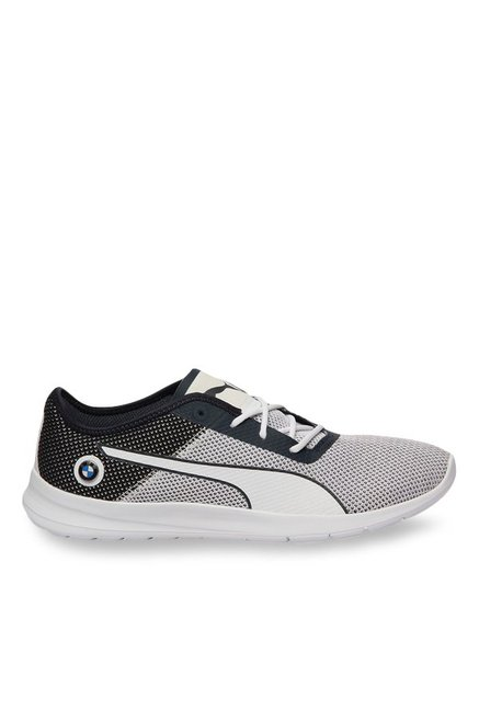 dc0e632552f Buy Puma BMW MS Runner White   Team Blue Running Shoes for Men at Best  Price   Tata CLiQ