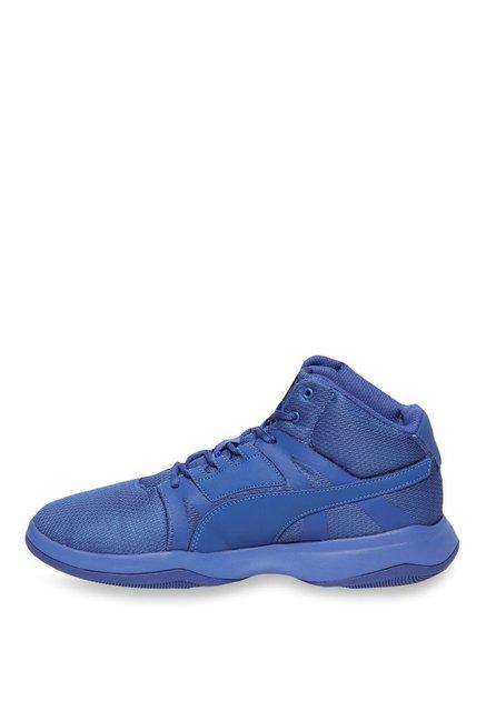 Buy Puma Rebound Street Evo True Blue Basketball Shoes for Men at ... bdb47baa3