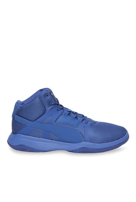 Buy Puma Rebound Street Evo True Blue Basketball Shoes for Men at Best Price    Tata CLiQ 69623c4e6