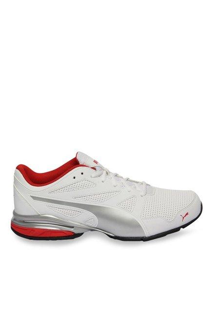 Buy Puma Tazon Modern SL FM White   Silver Running Shoes for Men at Best  Price   Tata CLiQ e8d51961e