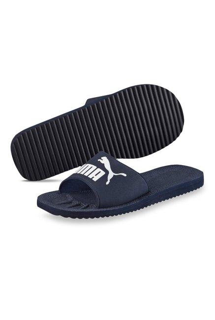 Buy Puma Purecat Peacoat   White Casual Sandals for Men at Best ... 2260b622b