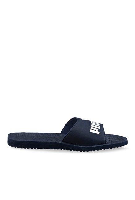 Buy Puma Purecat Peacoat   White Casual Sandals for Men at Best Price    Tata CLiQ c45d20a20