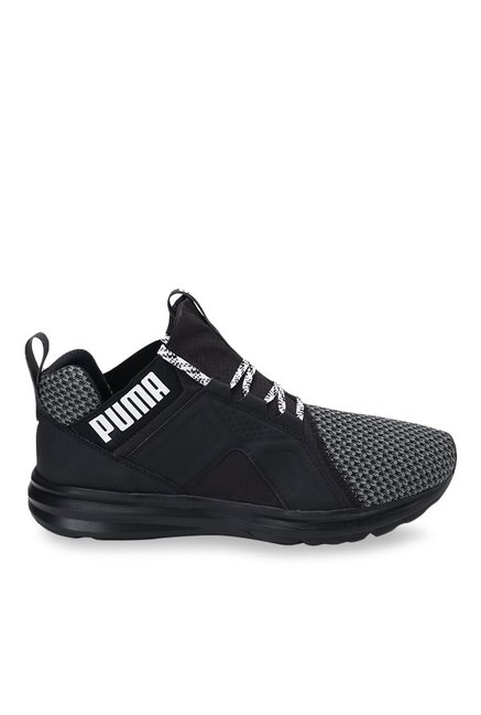 10fd5a4e83d792 Buy Puma Enzo Terrain Asphalt Grey   Black Running Shoes for Men at Best  Price   Tata CLiQ