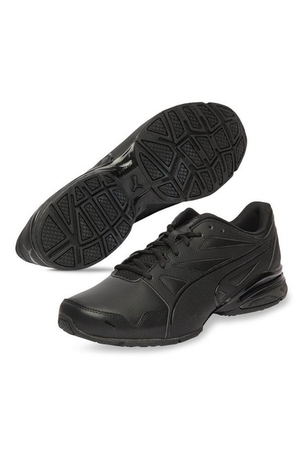 4bcf178edcf Buy Puma Tazon Modern Fracture Black Running Shoes for Men at Best ...