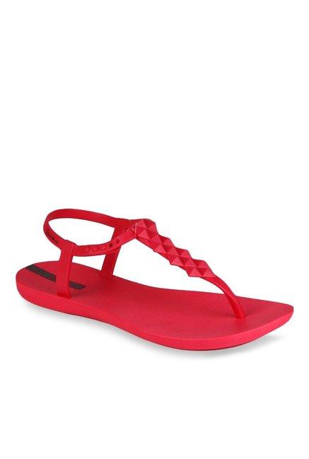 Red T Ipanema Buy Cliq Strap Sandals At Best PriceTata For Women eHWEIYbD29