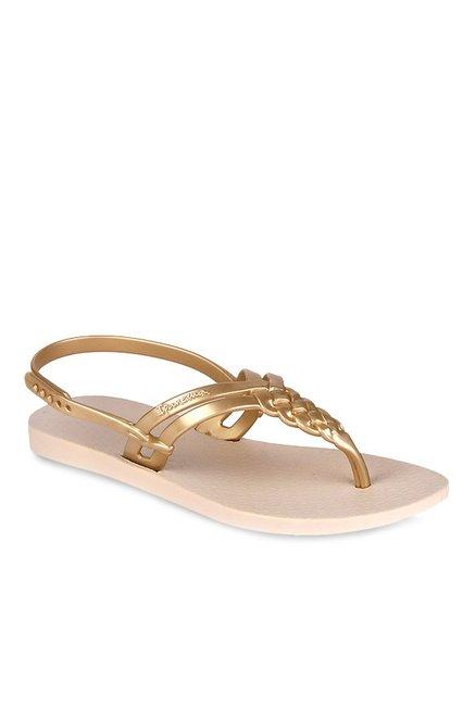 daa07ec5c2b Buy Ipanema Golden Back Strap Sandals for Women at Best Price ...