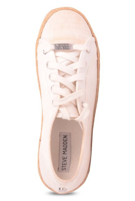 18c730fdc5c2 Buy Steve Madden Hampton White Espadrille Sneakers for Women at Best ...