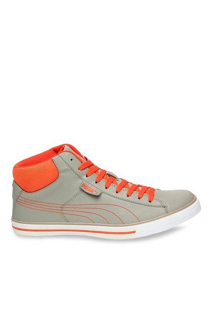 Puma Salz Mid DP Rock Ridge   Orange Ankle High Sneakers