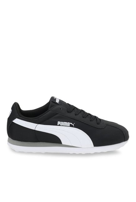 e477ac955c2094 Buy Puma Turin NL Black   White Sneakers for Men at Best Price ...