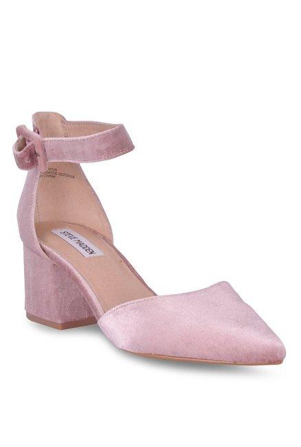 310137c0928 Buy Steve Madden Dainna-V Blush Pink D orsay Sandals for Women at Best  Price   Tata CLiQ