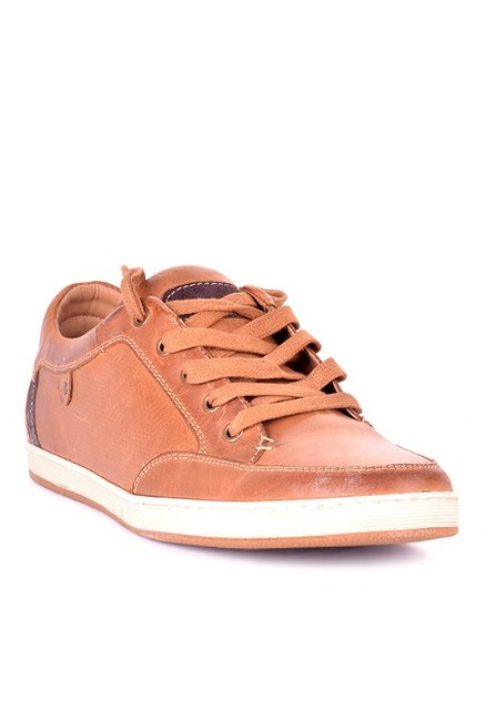 7499b288dc1 Buy Steve Madden Partikal Tan & White Sneakers for Men at Best Price @ Tata  CLiQ