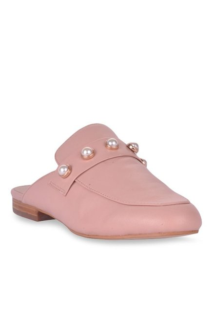 2b3e1319f568 Buy Steve Madden Kandi-P Blush Pink Mule Shoes for Women at Best ...