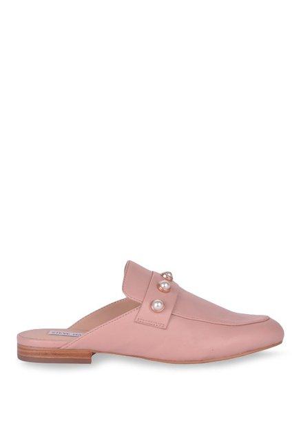 e88f496d693 Buy Steve Madden Kandi-P Blush Pink Mule Shoes for Women at Best ...