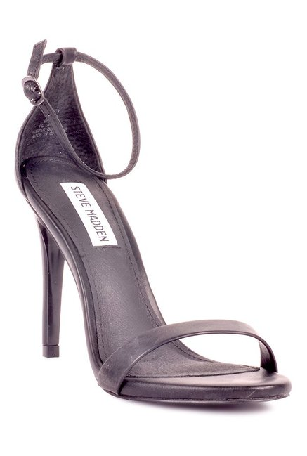 c9a589bc8e Buy Steve Madden Stecy Black Ankle Strap Stilettos for Women at ...
