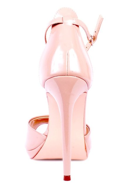 92320be1a1f Buy Steve Madden Update 1 Blush Pink Ankle Strap Stilettos for Women at  Best Price @ Tata CLiQ