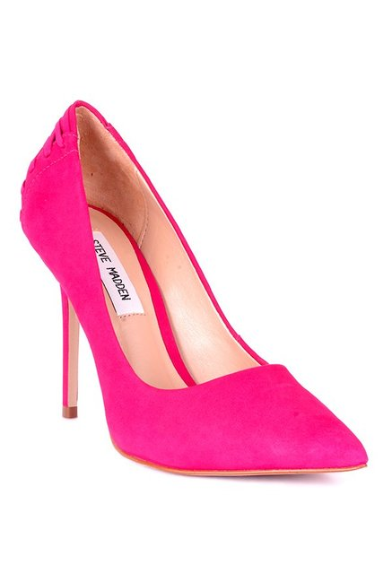 9f1ee18e40a Buy Steve Madden Paiton Fuschia Stiletto Heeled Pumps for Women at Best  Price   Tata CLiQ
