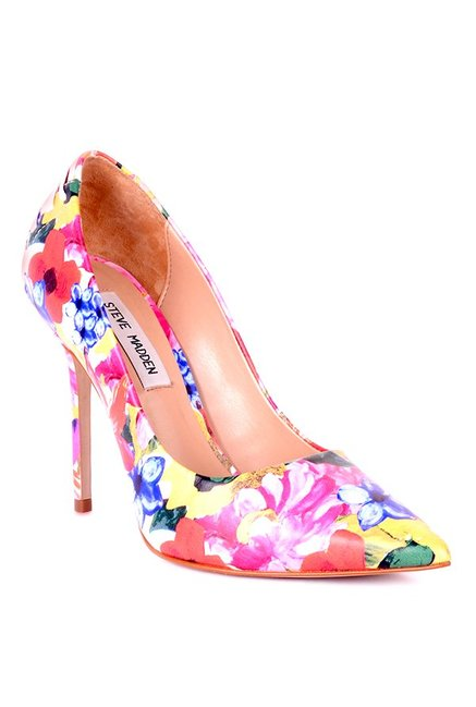 6957a5401f9 Buy Steve Madden Paiton Pink   Yellow Stiletto Heeled Pumps for ...