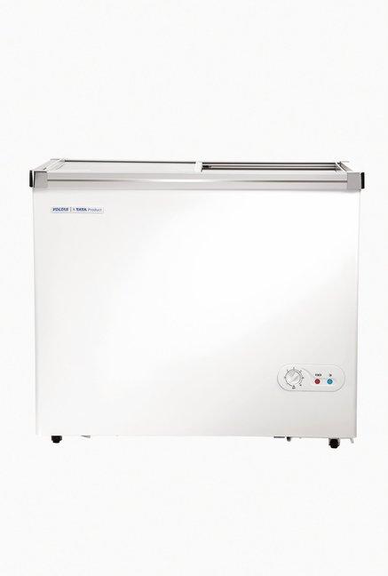 Voltas 320 GSL 320 L Single Door Horizontal Chest Freezer (Classic White)
