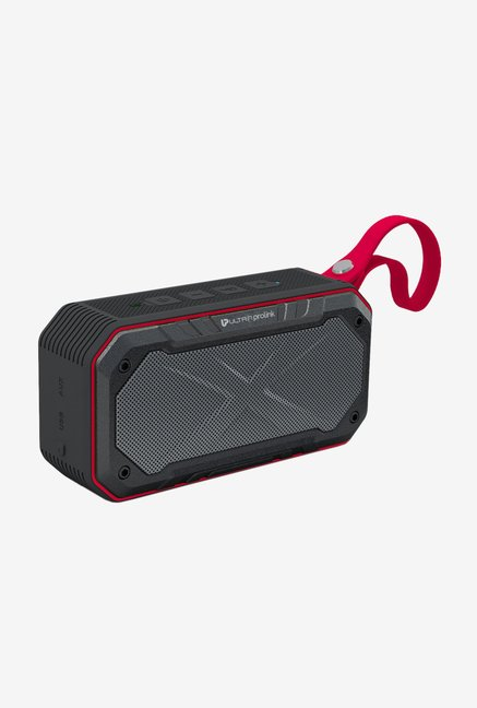 Ultraprolink Hi-Q Bravo 8W/IPX7 Dual Bluetooth Speaker (Red)