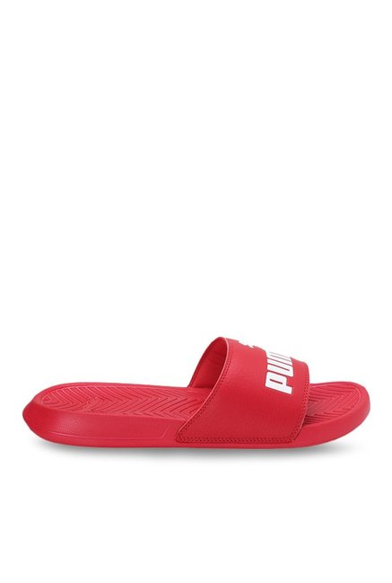 99010ce50 Buy Puma Popcat Barbados Cherry   White Casual Sandals for Men at ...