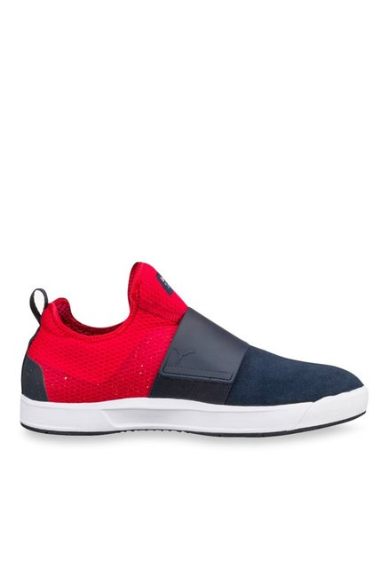Puma Red Bull RBR WSSP Total Eclipse & Chinese Red Slip-Ons