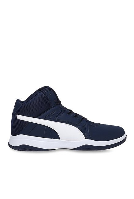 595ea90a97c69 Buy Puma Rebound Street Evo SL IDP Peacoat Basketball Shoes for Men at Best  Price   Tata CLiQ