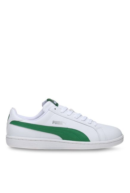 939963db Buy Puma Smash L White & Amazon Green Sneakers for Men at Best Price ...