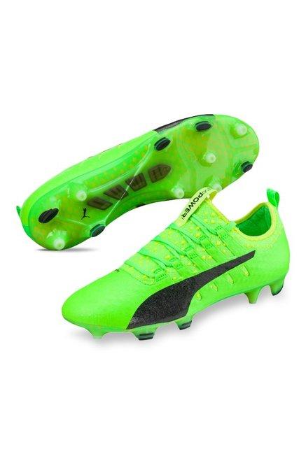 bf1cc53d891 Buy Puma evoPOWER Vigor 1 FG Green Gecko   Black Football Shoes for ...