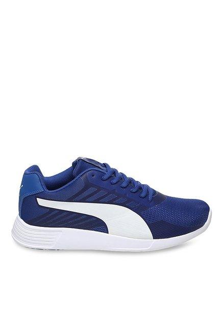 5c735ec8492b Buy Puma ST Trainer Pro IDP True Blue   White Training Shoes for Men at  Best Price   Tata CLiQ