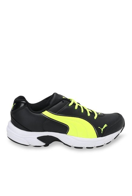 Buy Puma Axis IV XT DP Periscope   Safety Yellow Running Shoes ... 853f0592ac0c