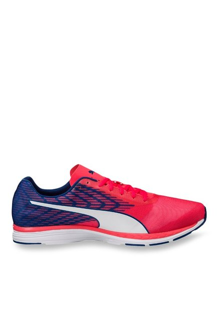 26657af3613f Buy Puma Ignite Speed 100 R Bright Plasma   Blue Running Shoes for Men at  Best Price   Tata CLiQ