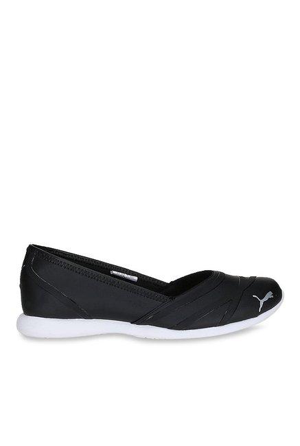67dca6a3be25e2 Buy Puma Vega SL IDP Black Flat Ballets for Women at Best Price   Tata CLiQ