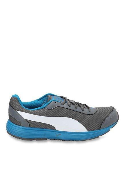 e032ab24826e82 Buy Puma Reef Fashion DP Quiet Shade   White Running Shoes for Men at Best  Price   Tata CLiQ