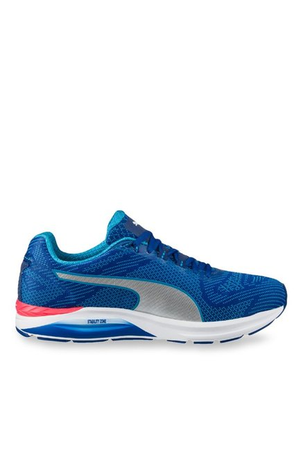 fd57efe91a0 Buy Puma Ignite Speed 600 S True Blue   Silver Running Shoes for Men at  Best Price   Tata CLiQ