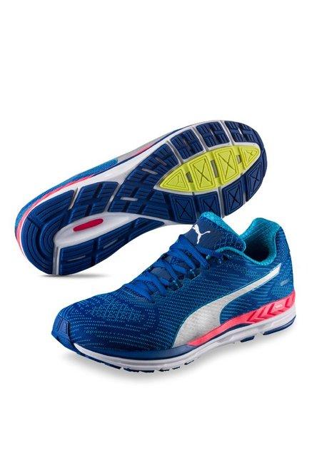 2e5eb0e2e46612 Buy Puma Ignite Speed 600 S True Blue   Silver Running Shoes for Men ...