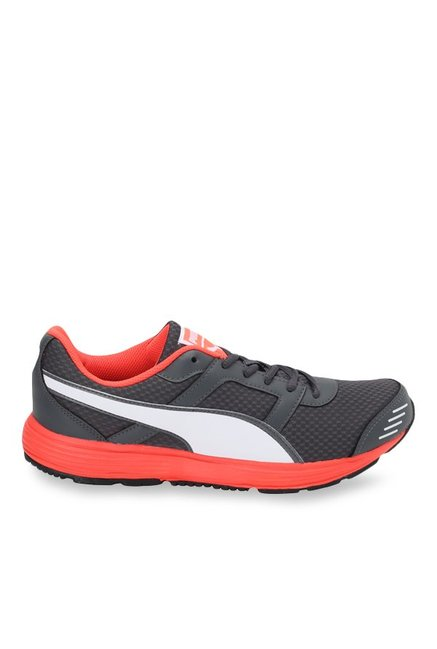 Buy Puma Harbour Fashion DP Asphalt Grey   Red Running Shoes for Men at  Best Price   Tata CLiQ 124a5711b