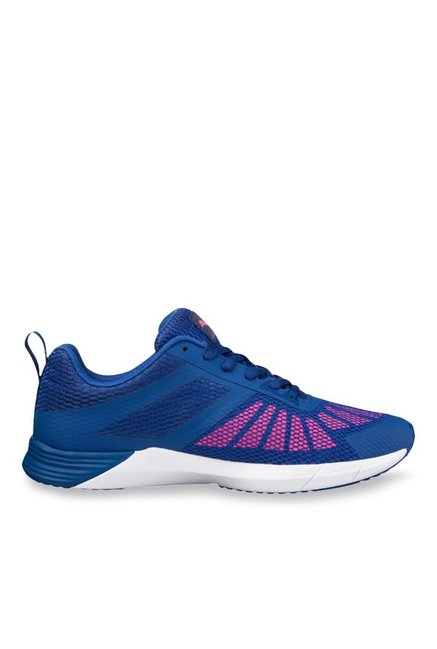 Buy Puma Propel True Blue   Knockout Pink Running Shoes for Women at Best  Price   Tata CLiQ 52bf3acd2