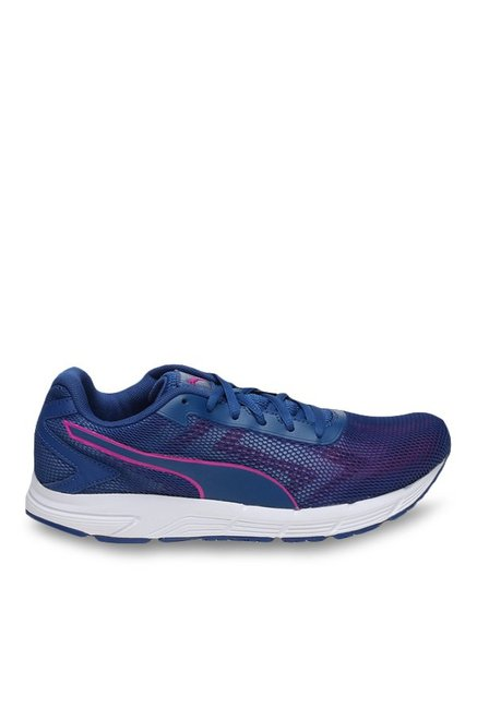 Puma Engine IDP True Blue & Ultra Magenta Running Shoes