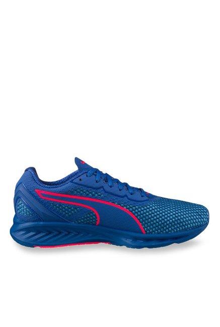 Buy Puma Ignite 3 True Blue   Blue Danube Running Shoes for Men at Best  Price   Tata CLiQ 81bba2ee4