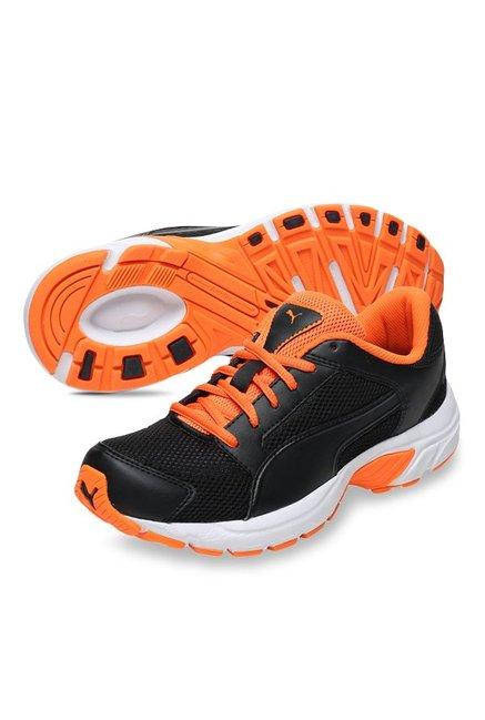 Buy Puma Splendor DP Black   Orange Clown Fish Running Shoes for Men ... 9dd4a4f48