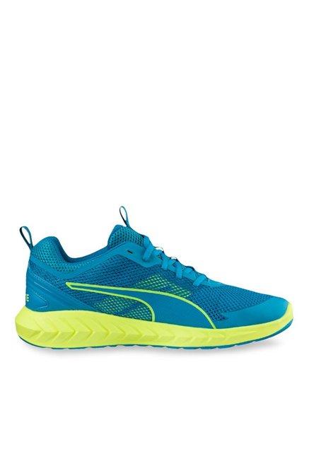 Buy Puma Ignite Ultimate 2 Blue Danube   Yellow Running Shoes for Men at  Best Price   Tata CLiQ 233ae6313