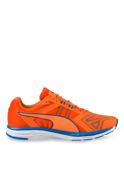 dcbcaea3dda Buy Puma Speed 500 Ignite Pwrcool Orange   Blue Running Shoes ...